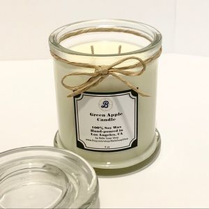 Highly Fragranced Green Apple Soy Candle 9 oz